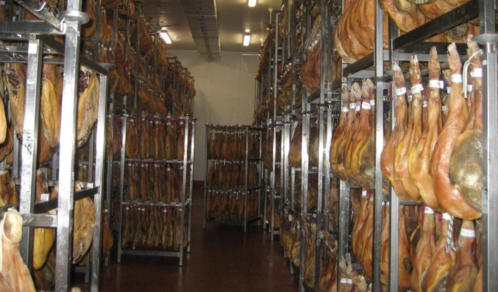 Secado del jamón