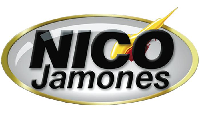 NICO Jamones 1995 Cambio de logo